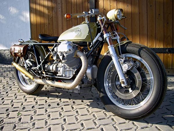 Moto Guzzi 850T bobber