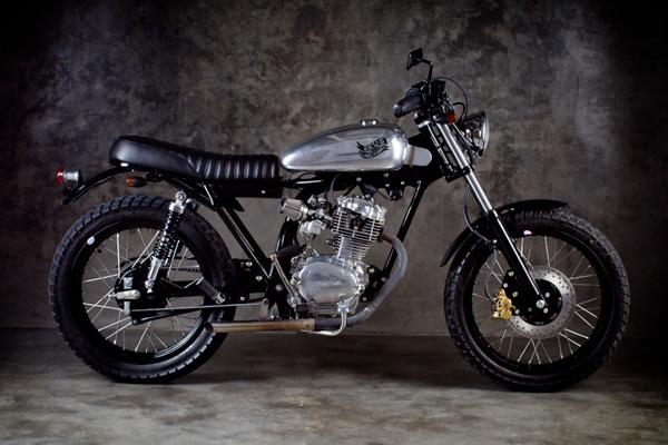 honda cb100 the prospect by deus modern moto