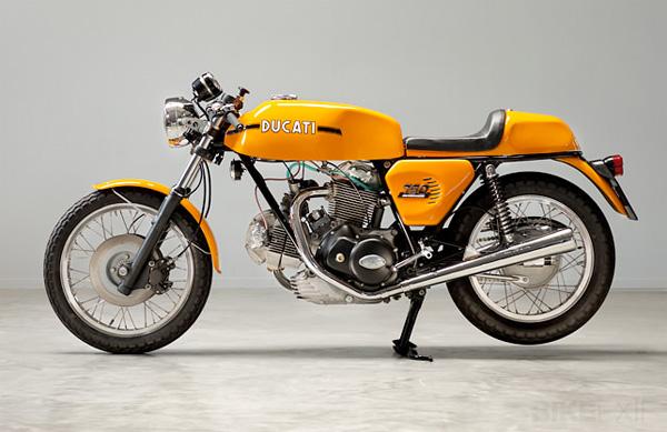 Vintage Ducati 750 Sport